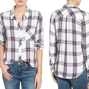 Rails Plaid Button Down Longsleeve Shirt XS